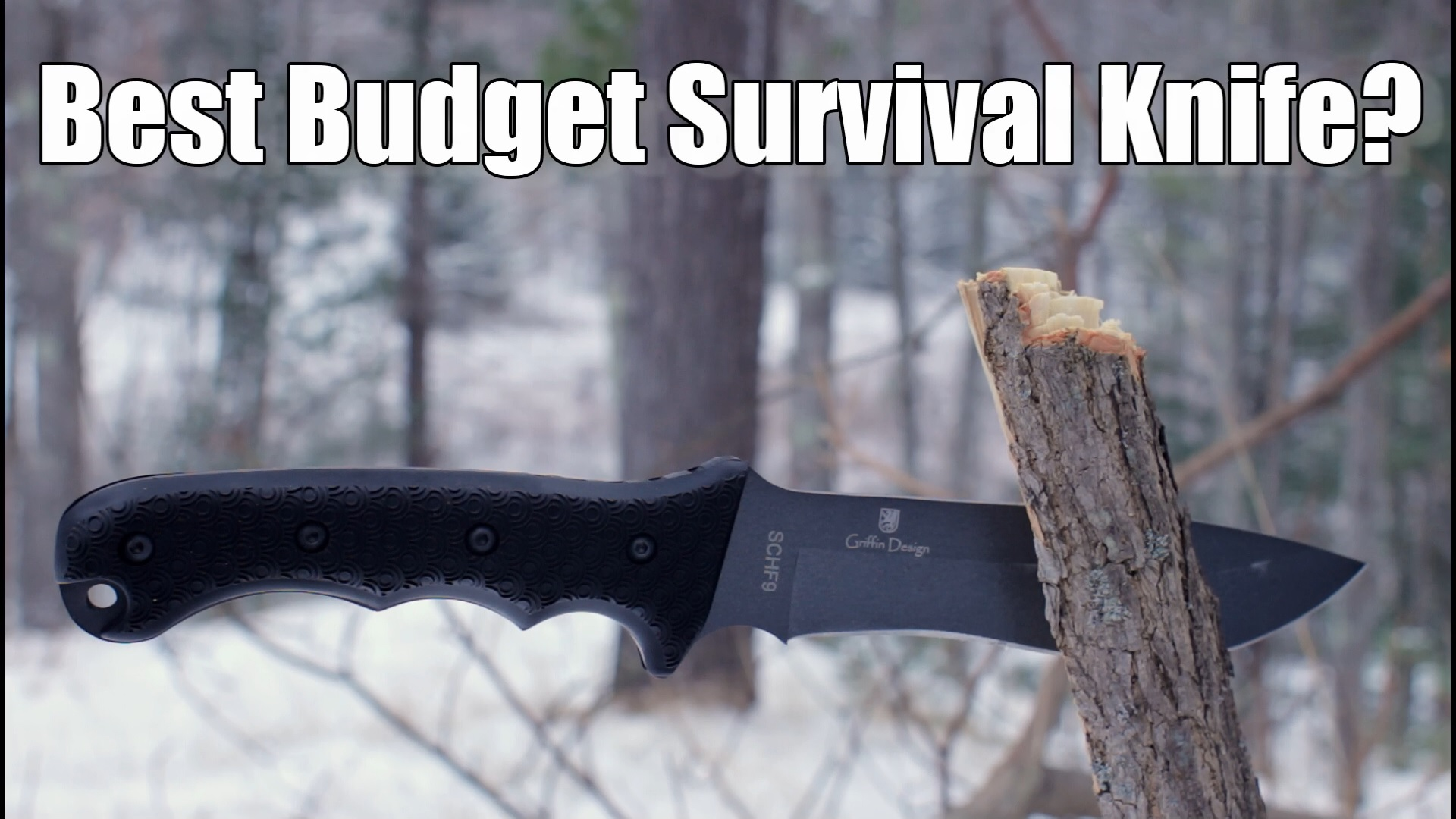 Best Survival Knife Under 40 The Schrade Schf9 Ultimate