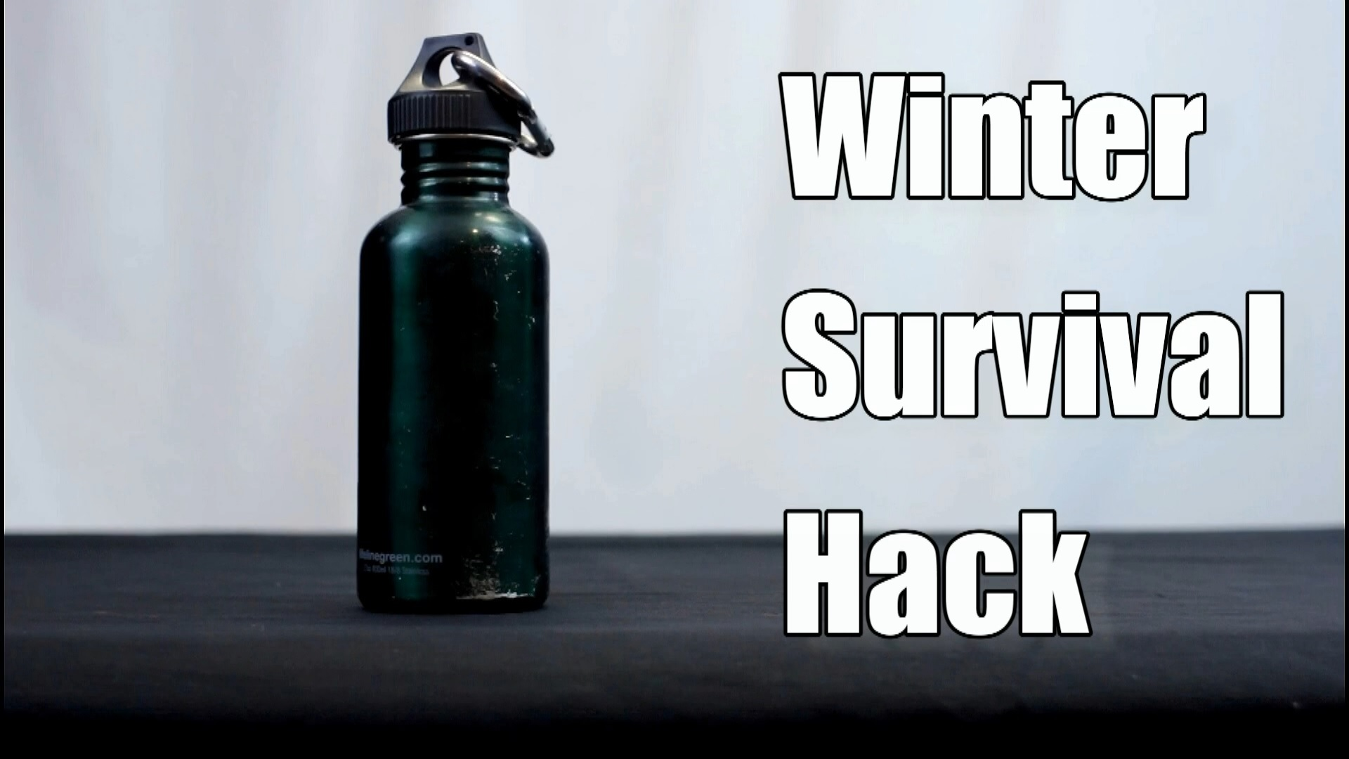 Survival Hack Winter Water Storage How To Keep Freezing