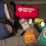 The 1st Aid kit is only for hiking but I carry the rest everyday.