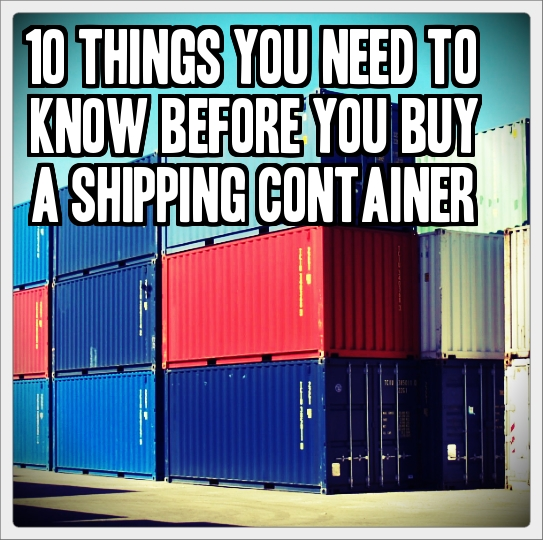 Buy Shipping Container Homes 543 x 540