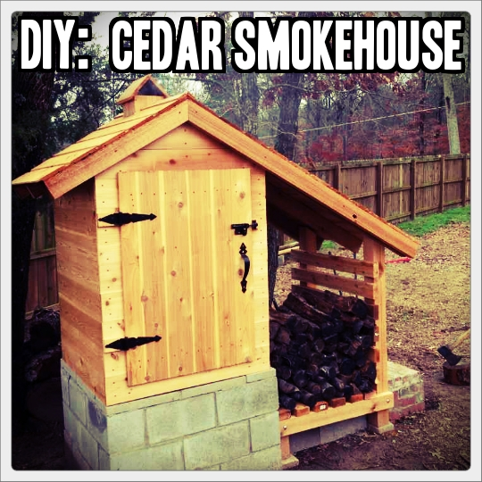 Diy Cedar Smokehouse 187 Tinhatranch