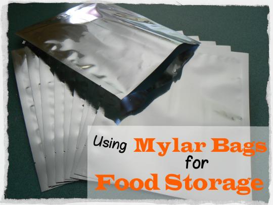 Using Mylar Bags For Food Storage 187 Tinhatranch