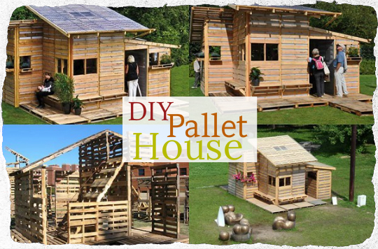 DIY Pallet House TinHatRanch