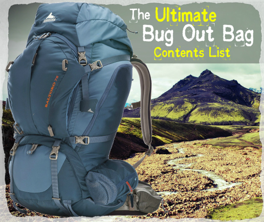 The Ultimate Bug Out Bag Content List