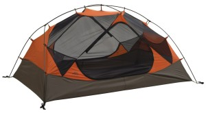 Notice how the tub (brown portion) extends well up the sides of the tent