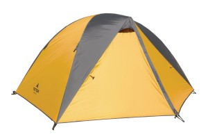 This tent from Teton is a great example of a tent whose rainfly extends to the ground.