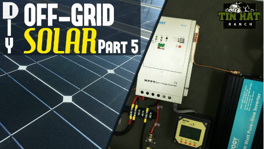 Diy Off Grid Solar Charge Controllers Mppt Vs Pwm