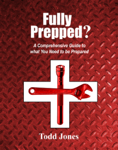 A you ready for any disaster?  You can be, Fully Prepped by Todd Jones is the MOST comprehensive step by step book available on the subject.  Check it out.