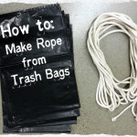 trash bag rope